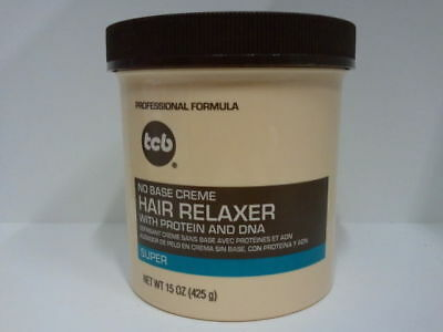 [Tcb] No Base Creme Hair Relaxer With Protein And Dna *super* 15Oz