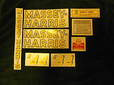 Business & Industrial Decal set for Massey Harris Pony Tractor ...