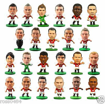 Manchester United 2016 SoccerStarz Figures Players Football Figurines Official