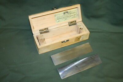 Microtome knife blade, 160 mm, Slee, box of 2 blades