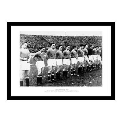 Busby Babes Memorabilia - 1958 Manchester United Team Photo (672)