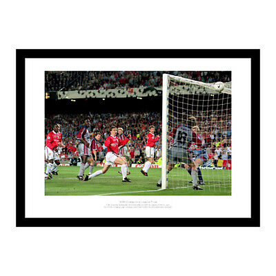 Manchester United 1999 Champions League Final Solskjaer Goal Photo (293)