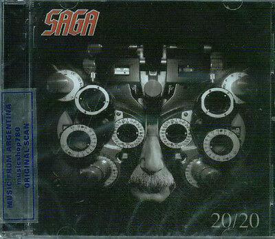 Saga 20/20 Sealed Cd New 2012
