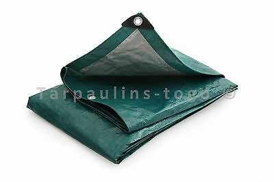 Medium Heavy Weight Tarpaulin Tarp 140gsm Waterproof Cover Camping Ground Sheet