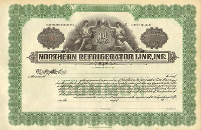 Northern Refrigerator Line > NRL stock certificate share