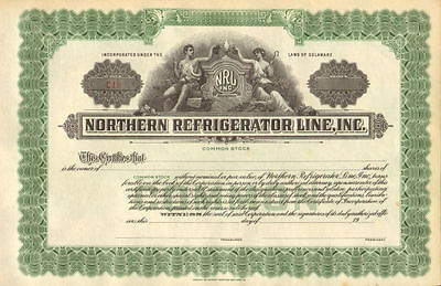 Northern Refrigerator Line   NRL stock certificate share