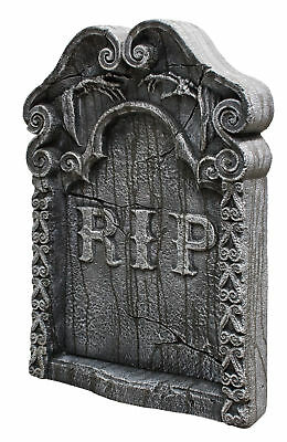 Rest in Peace Tombstone RIP Prop Graveyard Cemetery Grave Halloween Decoration