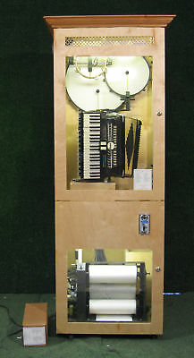 Automated accordion coin operated