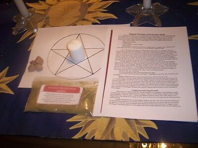 Wicca---MAGICK FORTRESS OF PROTECTION RITUAL---Protection Your Home & Family