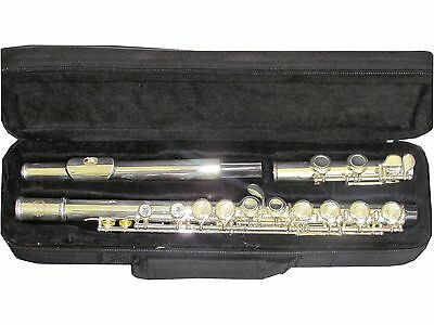 Prestini USA Silver Plated Flute, Assembled in USA!  Brand New!