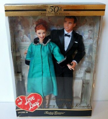 I love Lucy is Enceinte Barbie & Ricky~50th Anniversary~Episode 50~NIB~NRFB