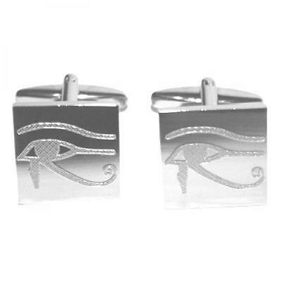 Eye of Horus Cufflinks Egyptian Protection Symbol Good Health Present Gift Box