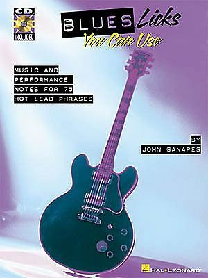 Blues Licks You Can Use Learn to Play Guitar TAB Music Book & CD