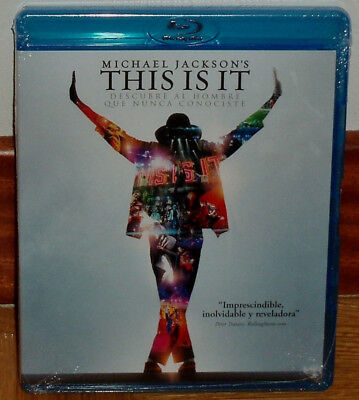 This Is It Michael Jackson´s Blu-Ray Nuevo Precintado Musical (Sin Abrir) R2