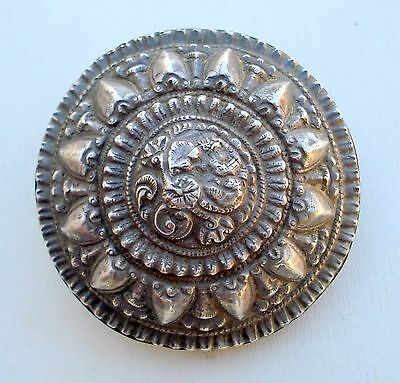 Rare Antique Tribal Old Silver Hair Ornament South Ind.