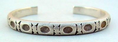 Ancient Tribal Old Silver Bracelet / Bangle Rajasthan