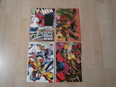 Awesome Lot Of 4 X-Men Special Comics!!!
