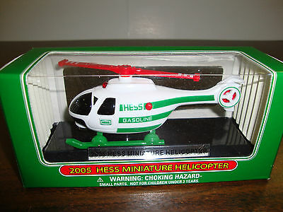 2005 Hess---Miniature Helicopter