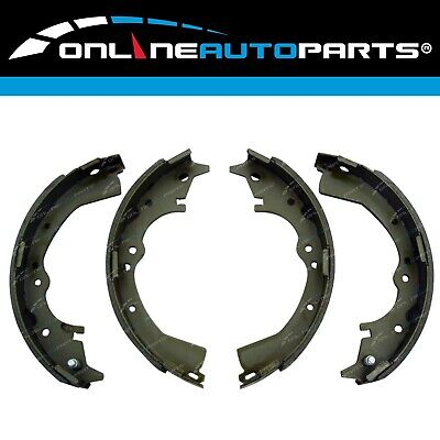 Rear Drum Brake Lining Shoe Set fit Navara D21 D22 4x4 4wd 10/89-2014 Ute Pads