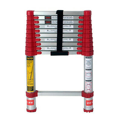 Xtend and Climb 760P Type II 10-1/2 Feet Aluminum Telescoping Ladder