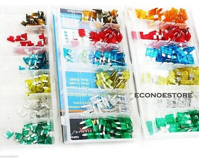 360PC Assorted Car Fuse Mini Low Profile Set  For Trucks Automotive Color Coded