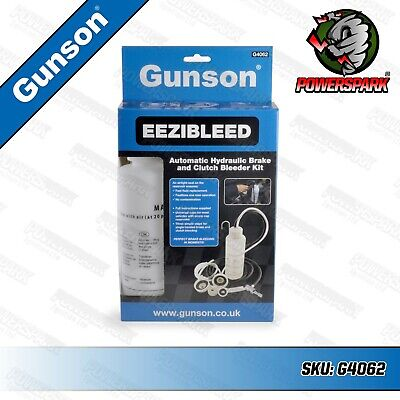 Gunson easy bleed EEZIBLEED Brake & Clutch Fluid Hydraulic Bleeding Kit