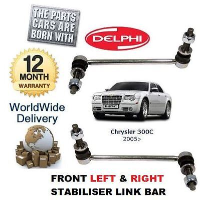 For Chrysler 300C 3.0Td 3.5 5.7 6.1 2005> Front Right + Left Stabiliser Link Bar