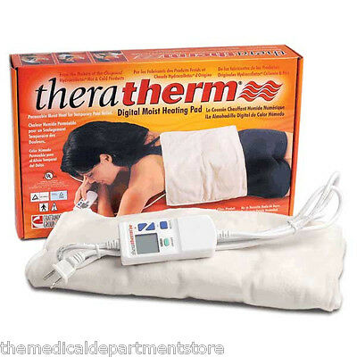"TheraTherm Digital Electric Moist Heat Pads  ""4 Size Options"""