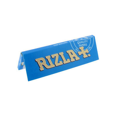 Rizla Blue Standard Rolling Paper 10 Booklets = 500 Papers Cheapest