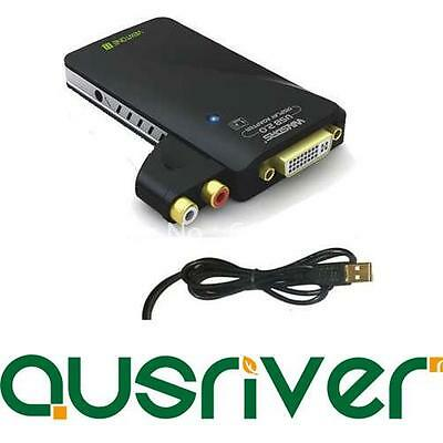 Mediagate USB to DVI VGA HDMI Display Graphics Adapter Converter