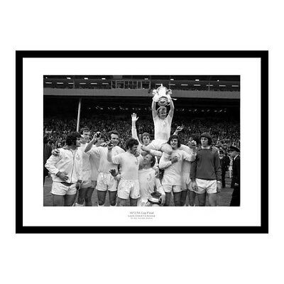 Leeds United 1972 FA Cup Team Celebrations Photo Memorabilia (718)