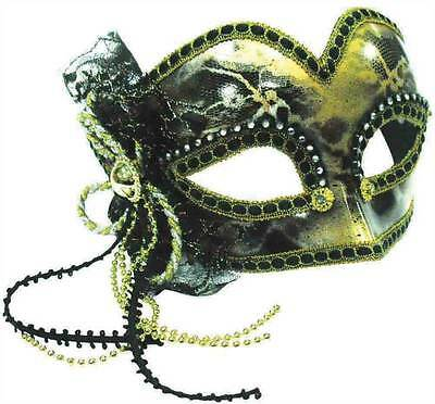 Glazed Look/ Gold Decoration , Masquerade Eye Mask, Halloween, Fancy Dress