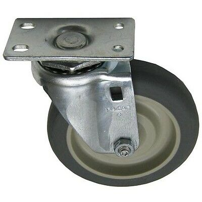 "PLATE MOUNT CASTER 4"" DIA 1-3/4 X 3 Plate for Component Hardware Group 262368"