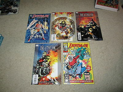 Awesome Set Of 5 Deathlok Comics, New Ones, Graphic Novel!!!