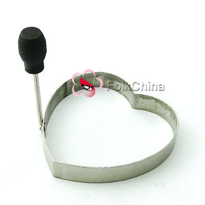 Stainless Steel Heart Egg Frying Cooking Rings Perfect For Egg Fried Eggs FL-01