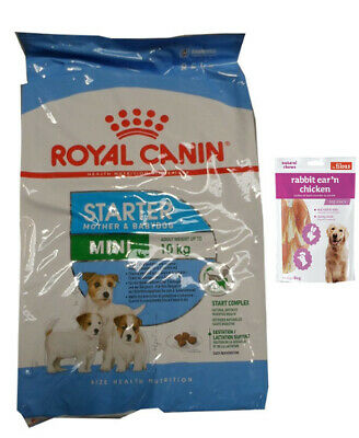 8,5kg Royal Canin  Mini Starter Mother & Babydog  + 80gFleischsnacks