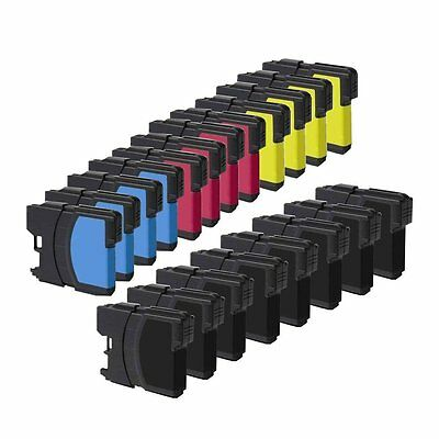 20PK Brother LC61 Ink Cartridges for Brother MFC290C MFC295CN MFC495CN MFC6890