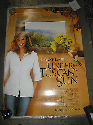 Under The Tuscan Sun / Original U.s. One-Sheet Movie Poster (Diane Lane)