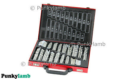 170pc HSS High Speed Twist Drill Bit Sizes 1-10mm Garage Workshop Tool Set