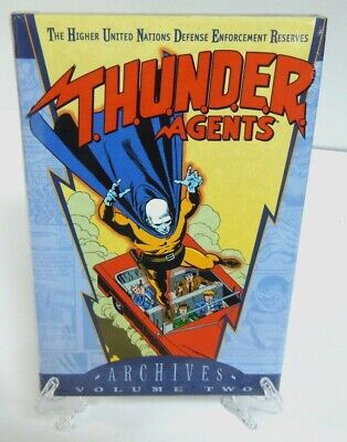 T.H.U.N.D.E.R. THUNDER AGENTS Vol 2 DC Comics Archive Edition Hard Cover Sealed