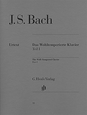 J.S. Bach The Well-Tempered Clavier Part 1 Play Classical Piano Music Book