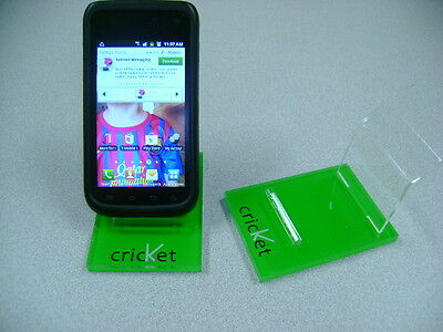 LOT 10 NEW STAND HOLDER CELL PHONE DISPLAY CRICKET GREEN