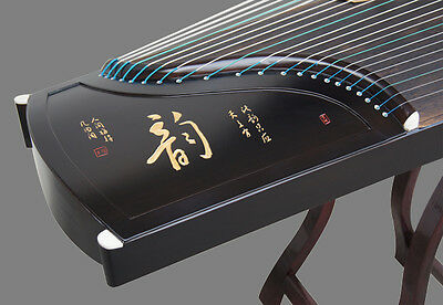 21 String Black Sandalwood Guzheng Instrument Chinese Zither Koto Gu Zheng