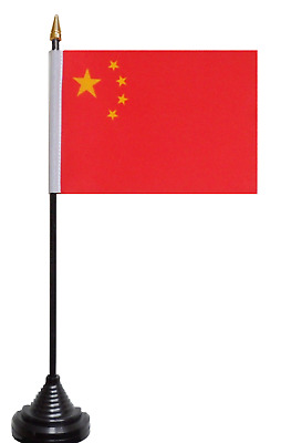 China Polyester Table Desk Flag
