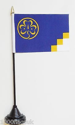 International Girl Guides Movement Polyester Table Desk Flag