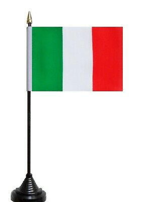 Italy Polyester Table Desk Flag