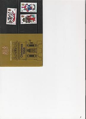 1968 Royal Mail Presentation Pack Christmas Mint Pre Decimal Stamps