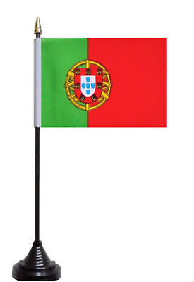 Portugal Polyester Table Desk Flag