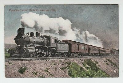 [32683] Old Postcard Canadian Pacific Railway Express Train