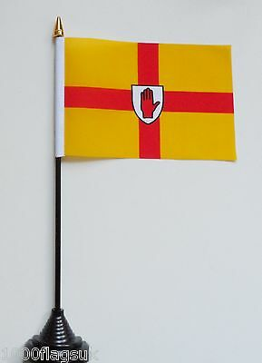 Ireland Ulster Province Polyester Table Desk Flag